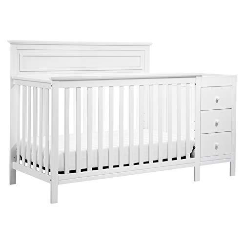 DaVinci Autumn 4-in-1 Crib & Changer Combo in White