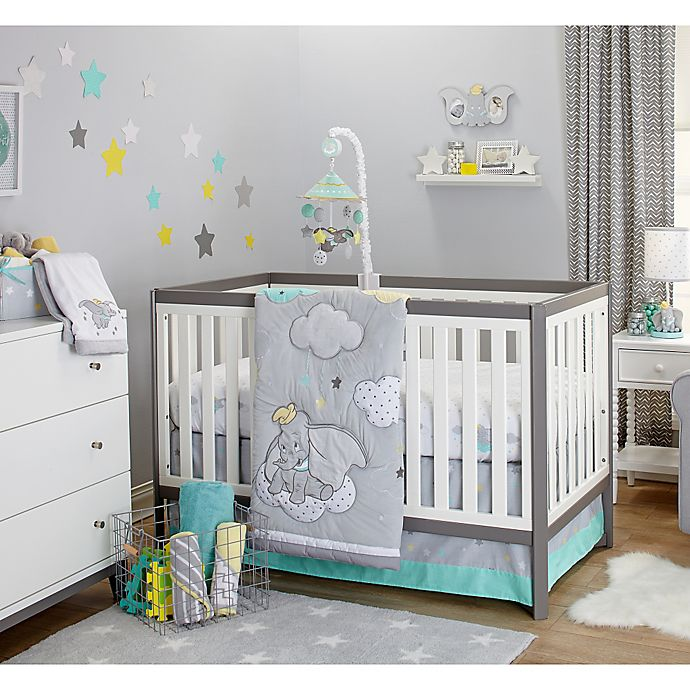 Disney Baby Dumbo Dream Big 3-Piece Crib Bedding Set