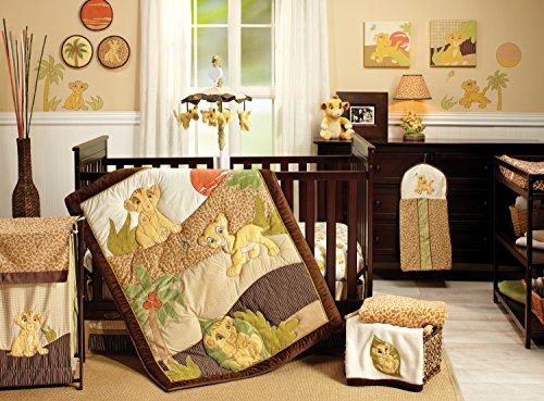 Disney Lion King Simba's Wild Adventure 7 Piece Nursery Crib Bedding Set