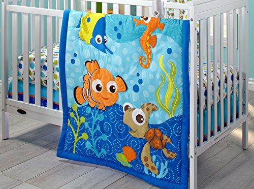 Disney Finding Nemo 3 Piece Crib Bedding Set