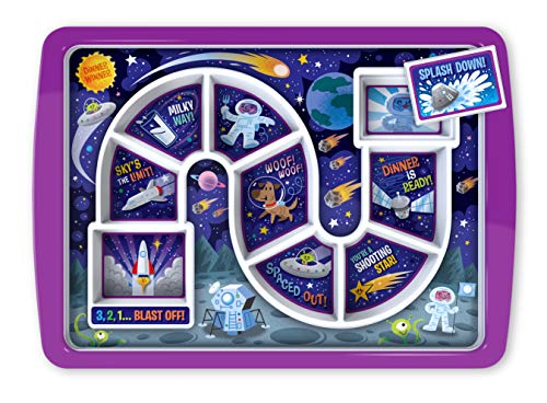 Fred & Friends DINNER WINNER Kid's Dinner Tray (Outer Space)