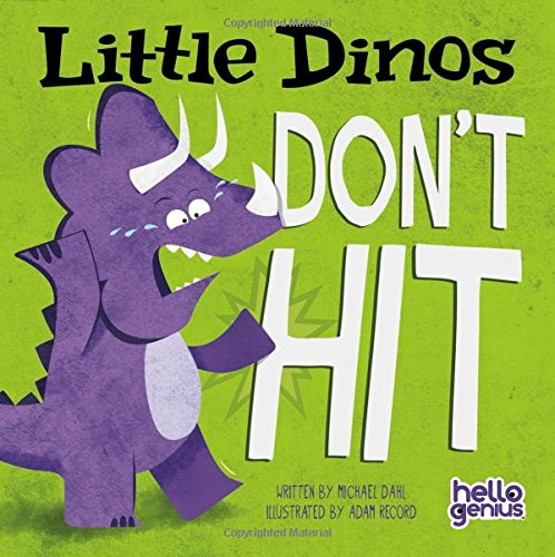 Little Dinos Don't Hit Board book