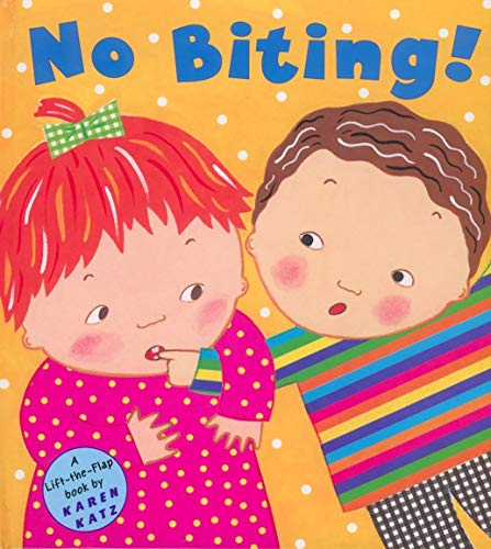No Biting! (Lift-The-Flap Book) Hardcover