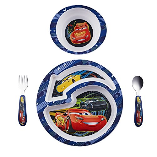 The First Years Disney/Pixar Cars Feeding Set, 4 Piece