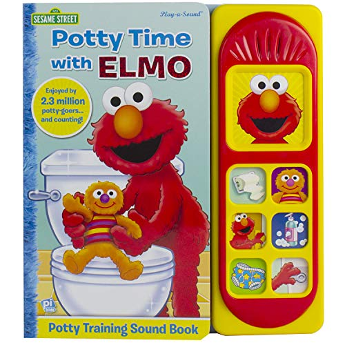 Potty Time with Elmo: 7 Button Little Sound Book