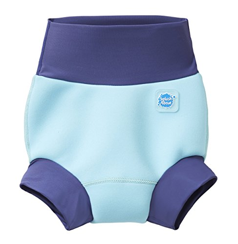 Splash About New and Improved Happy Nappy Swim Diapers (Blue Cobait)