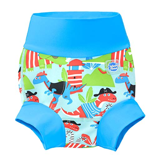 Splash About New and Improved Happy Nappy Swim Diapers (Dino Pirates)
