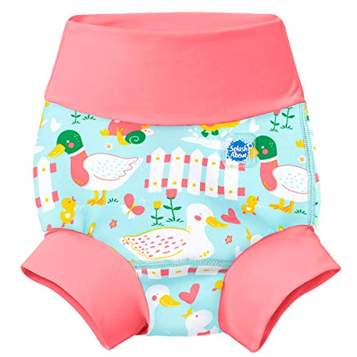 Splash About New and Improved Happy Nappy Swim Diapers (Little Ducks)