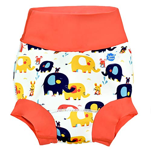 Splash About New and Improved Happy Nappy Swim Diapers (Little Elephants)