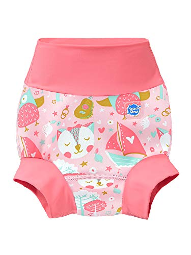 Splash About New and Improved Happy Nappy Swim Diapers (Owl & the Pussycat)