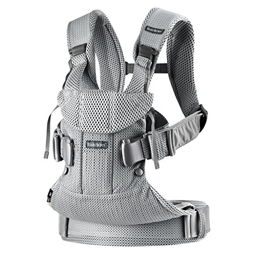 BabyBjorn Baby Carrier One Air (Silver)