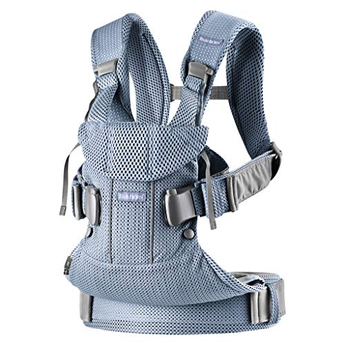 BabyBjorn Baby Carrier One Air (Slate Blue)