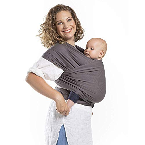 Boba Wrap Baby Carrier (Organic Dark Grey)