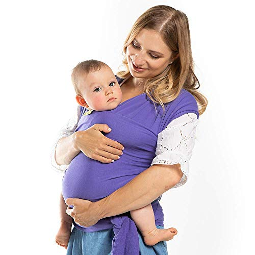 Boba Wrap Baby Carrier (Purple)