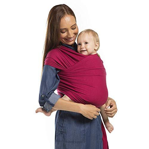 Boba Wrap Baby Carrier (Sangria)