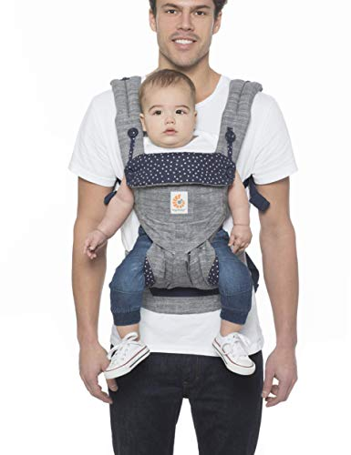 Ergobaby 360 All-Position Baby Carrier with Lumbar Support (Star Dust)