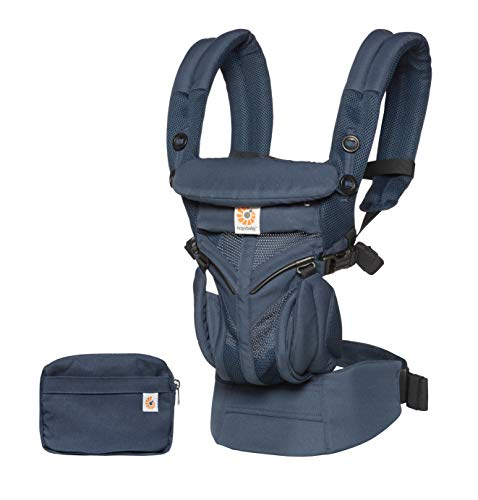 Ergobaby™ Omni 360 Cool Air Mesh Baby Carrier (Midnight Blue)