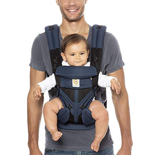 Ergobaby™ Omni 360 Cool Air Mesh Baby Carrier (Blue)