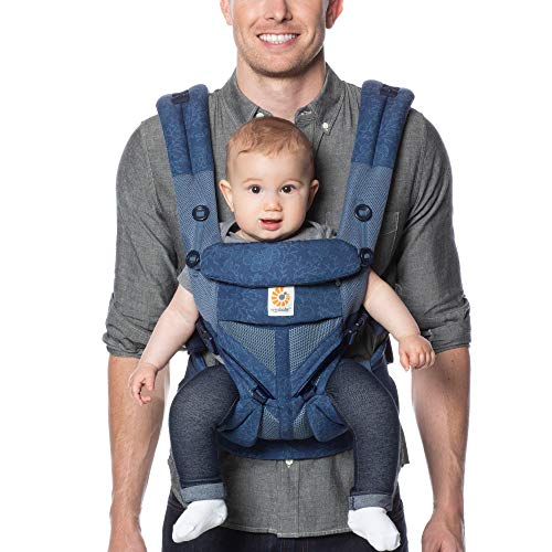 Ergobaby™ Omni 360 Cool Air Mesh Baby Carrier (Blue Blooms)