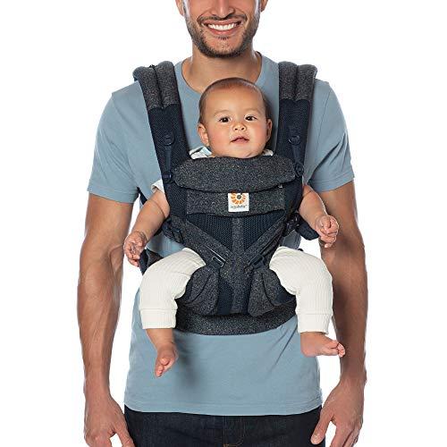 Ergobaby™ Omni 360 Cool Air Mesh Baby Carrier (Blue Tweed)