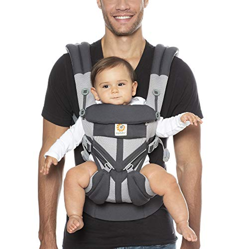 Ergobaby™ Omni 360 Cool Air Mesh Baby Carrier (Carbon Grey)