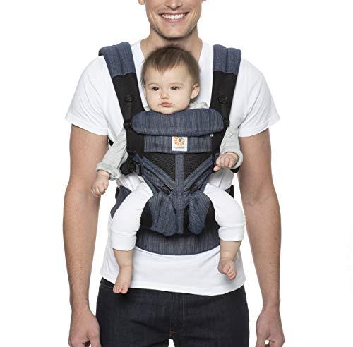 Ergobaby™ Omni 360 Cool Air Mesh Baby Carrier (Indigo Weave)