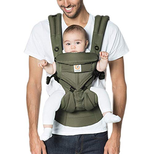 Ergobaby™ Omni 360 Cool Air Mesh Baby Carrier (Khaki Green)