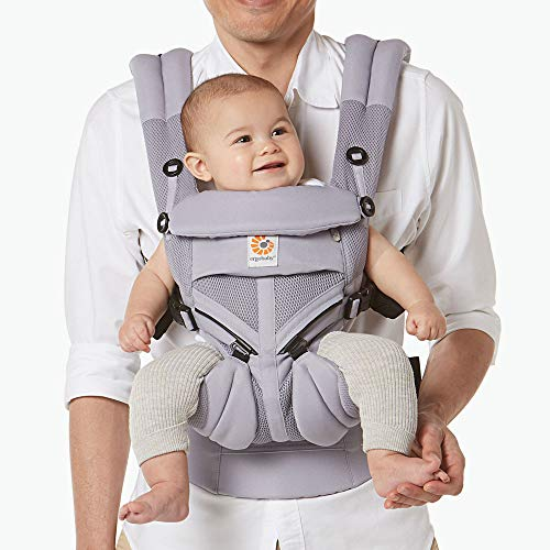 Ergobaby™ Omni 360 Cool Air Mesh Baby Carrier (Lilac Grey)