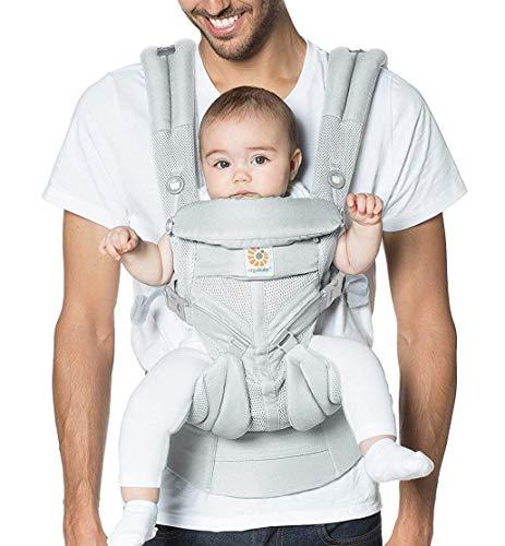 Ergobaby™ Omni 360 Cool Air Mesh Baby Carrier (Pearl Grey)