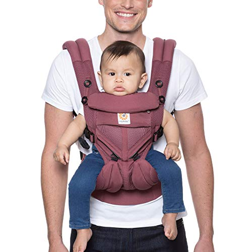 Ergobaby™ Omni 360 Cool Air Mesh Baby Carrier (Plum)