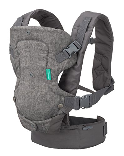 Infantino Flip Advanced 4-in-1 Carrier (Grey)