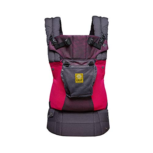 LÍLLÉbaby Complete Airflow Six-Position Baby Carrier (Charcoal Berry)