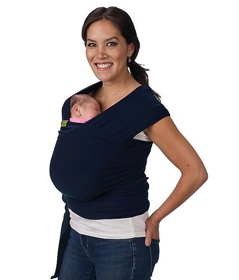 Boba Wrap Baby Carrier (Navy Blue)