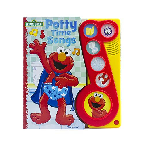 Sesame Street – Elmo Potty time Songs Little Music Note Sound Book