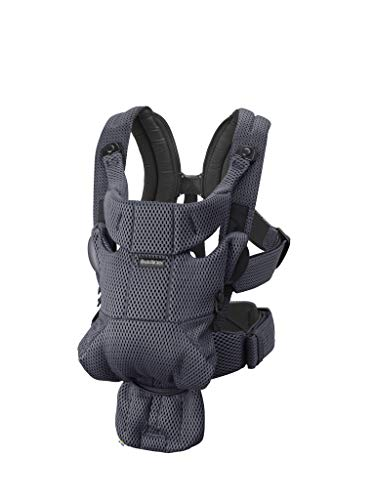 BABYBJORN Baby Carrier Free (Anthracite)