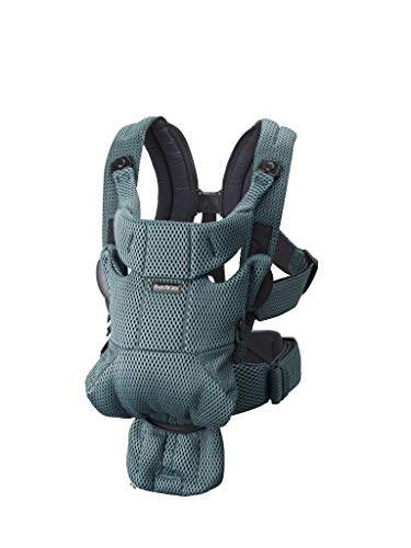 BABYBJORN Baby Carrier Free (Sage Green)