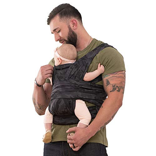 Boppy ComfyFit Hybrid Baby Carrier (Black and Grey Camo)
