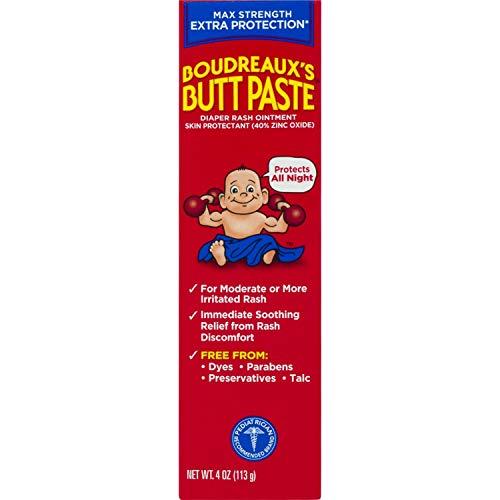 Boudreaux's Butt Paste Diaper Rash Ointment Maximum Strength
