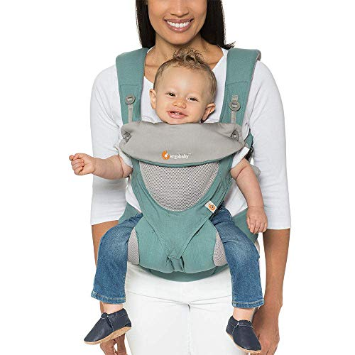 Ergobaby 360 All-Position Baby Carrier Cool Air Mesh (Icy Mint)