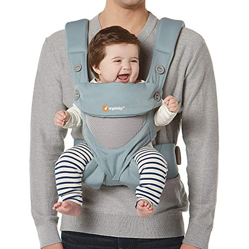 Ergobaby 360 All-Position Baby Carrier Cool Air Mesh (Sea Mist)