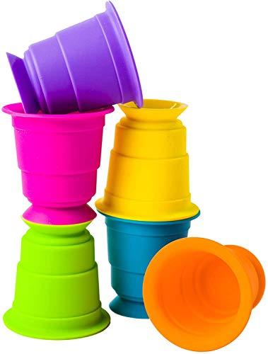 Fat Brain Toys® 6-Piece Suction Kupz