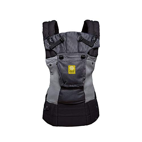 LÍLLÉbaby Complete Airflow Six-Position Baby Carrier (Grey with Silver)