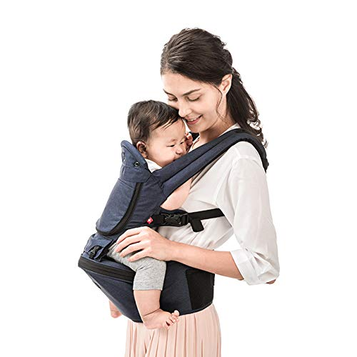 MiaMily Hipster Plus 3D Baby Carrier (Dark Blue)