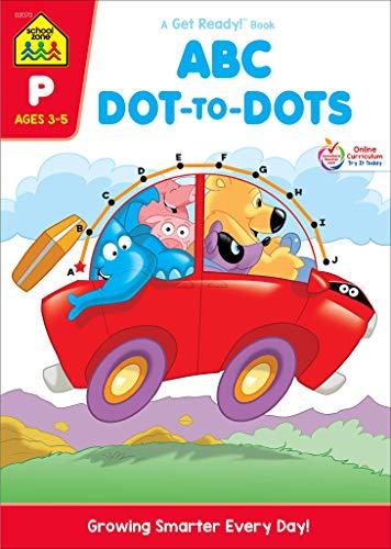 ABC Dot-to-Dots Preschool Workbook