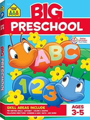 School Zone – Big Preschool Workbook