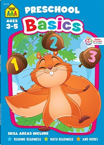 School Zone – Preschool Basics Workbook