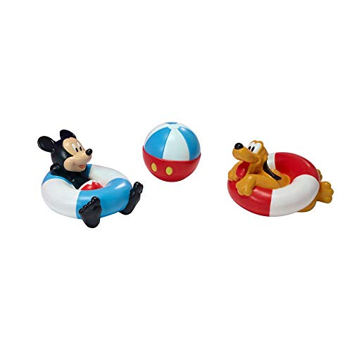 The First Years Disney Bath Squirt Toys, Mickey Mouse