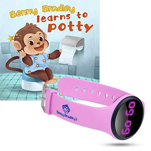 Benny Bradley's Potty Training Watch – Pink