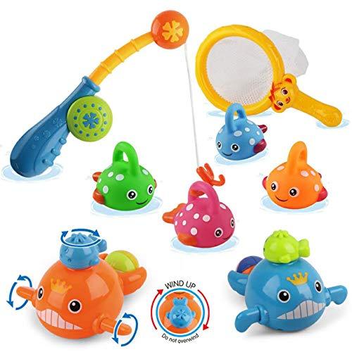 Dwi Dowellin Bath Toys Mold Free Fishing Games