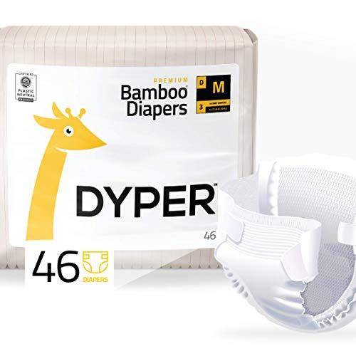 Dyper Premium Bamboo Baby Diapers